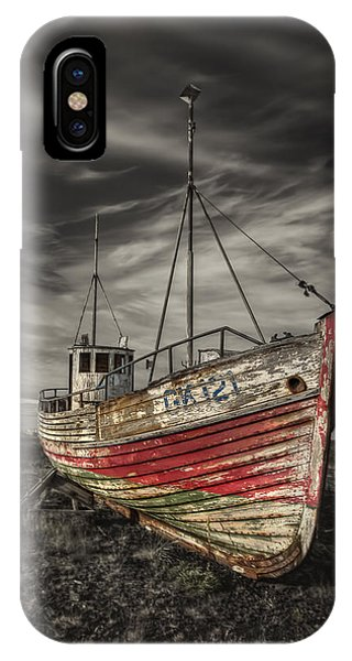 Left iPhone Case - The Ghost Ship by Evelina Kremsdorf