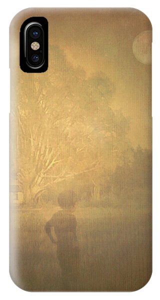 The Ghost Turns Away IPhone Case