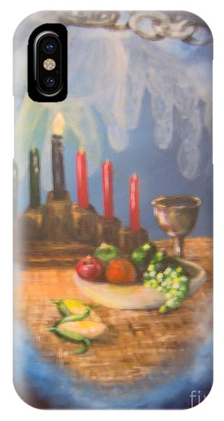 IPhone Case featuring the painting The Gift by Saundra Johnson