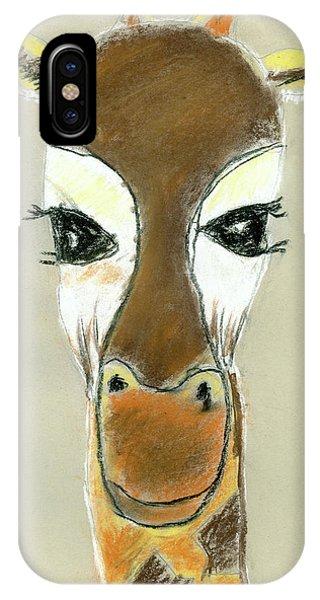 The Giraffe IPhone Case