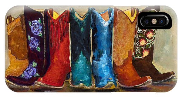 University iPhone Case - The Girls Are Back In Town by Frances Marino