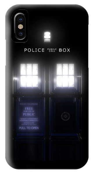The Glass Police Box IPhone Case