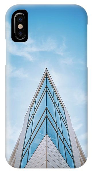 Minimalist iPhone Case - The Glass Tower On Downer Avenue by Scott Norris