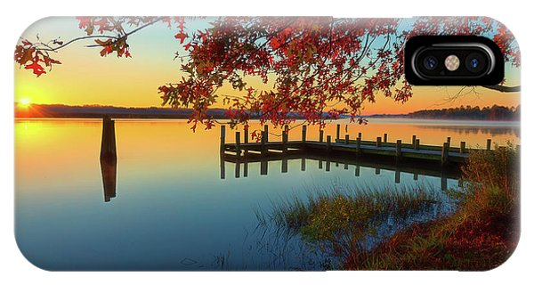 IPhone Case featuring the photograph The Glassy Patuxent by Cindy Lark Hartman