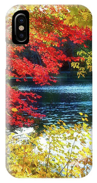 The Glory Of A New England Autumn IPhone Case