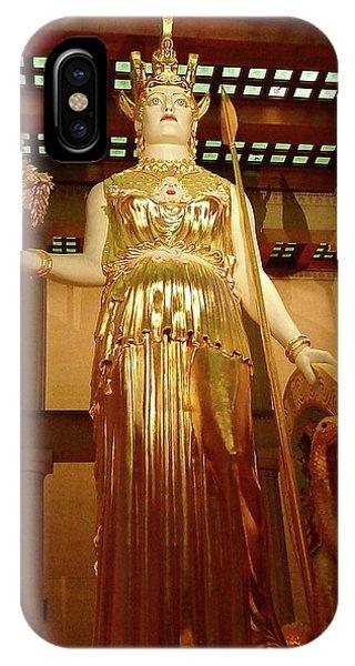 The Goddess Athena IPhone Case