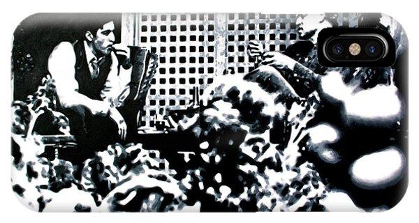 Robert De Niro iPhone Case - The Godfather by Hood aka Ludzska