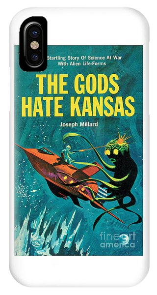 The Gods Hate Kansas IPhone Case