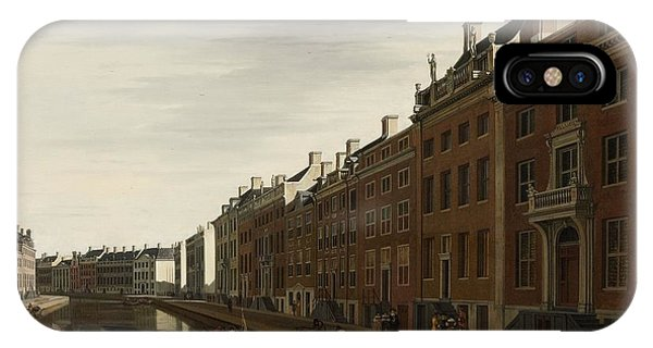 The Golden Bend In The Herengracht, Amsterdam, Seen From The West, 1672 IPhone Case
