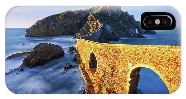 The Golden Bridge IPhone Case