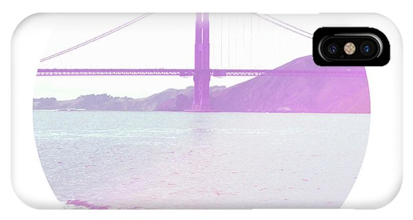 Bay Bridge iPhone Case - The Golden Gate- Art By Linda Woods by Linda Woods