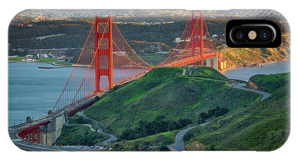 The Golden Gate At Sunset IPhone Case