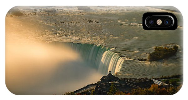 The Golden Mist Of Niagara IPhone Case
