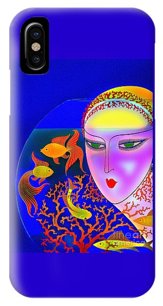 The Goldfish Bowl - Vintage 1920s IPhone Case