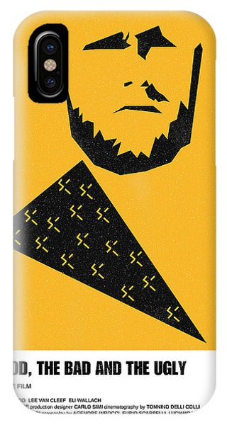 The Good Bad Ugly Clint Eastwood Poster IPhone Case