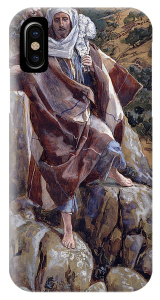 Life Of Christ iPhone Case - The Good Shepherd by Tissot