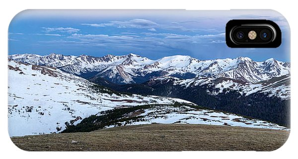 The Gore Range At Sunrise - Rocky Mountain National Park IPhone Case
