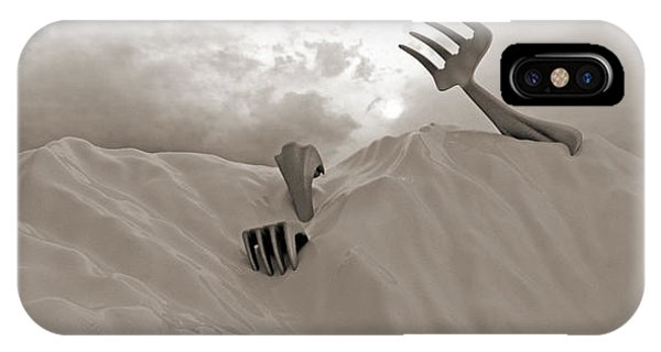 Fork iPhone Case - The Governor  by Betsy Knapp