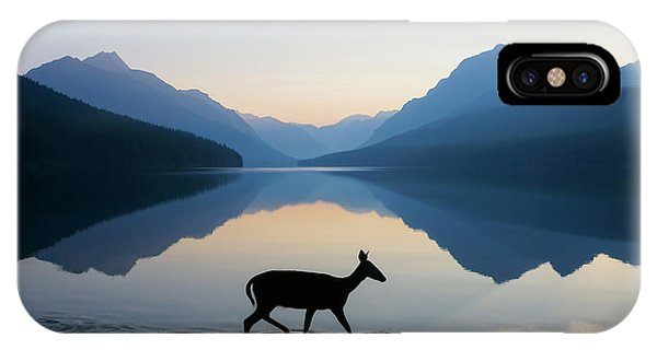Deer iPhone Case - The Grace Of Wild Things by Dustin  LeFevre