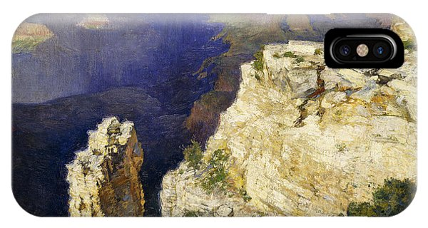 Grand Canyon iPhone Case - The Grand Canyon by Edward Henry Potthast