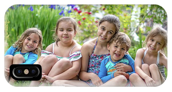 The Grand Kids In The Garden IPhone Case