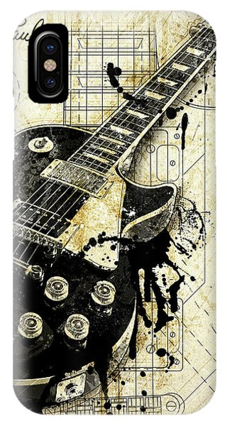 Electric Guitar iPhone Case - The Granddaddy by Gary Bodnar