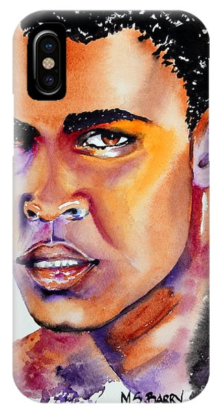 The Great Ali IPhone Case