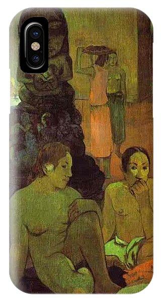 iPhone Case - The Great Buddha Paul Gauguin by Eloisa Mannion