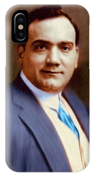 The Great Enrico Caruso IPhone Case