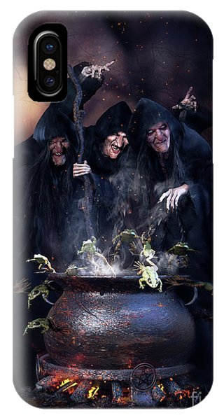 Cauldron iPhone Case - The Great Escape by Shanina Conway