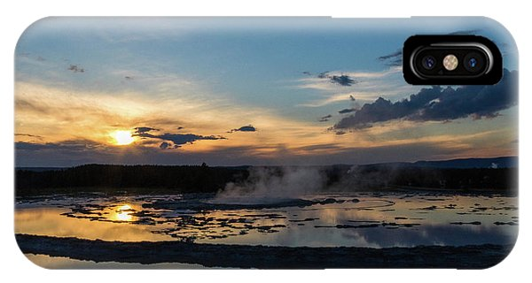The Great Fountain Geyser IPhone Case