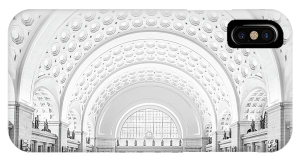 IPhone Case featuring the photograph The Great Hall by Ryan Wyckoff