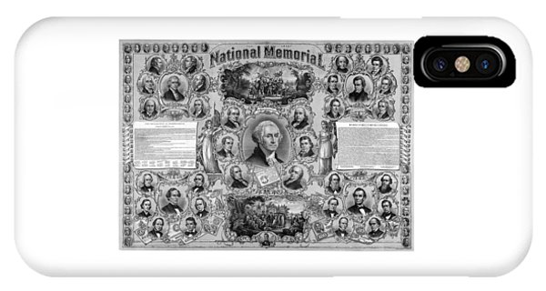 George Washington iPhone Case - The Great National Memorial by War Is Hell Store