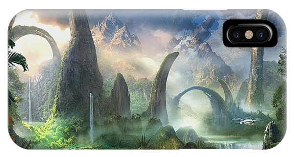 Jungle iPhone Case - The Great North Road by Philip Straub