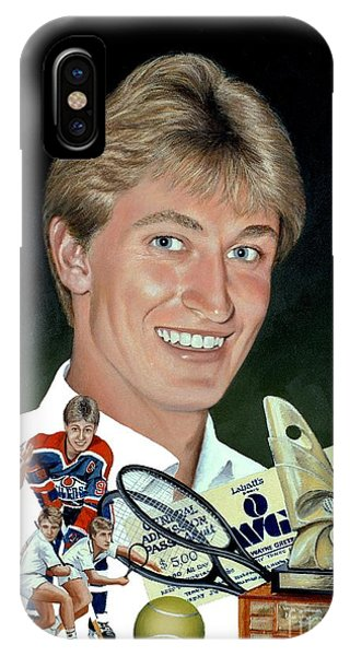 The Great One - Oiler Days Phone Case by Michael Swanson