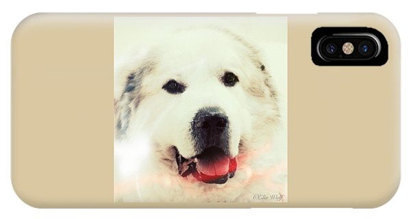 The Great Pyrenean IPhone Case