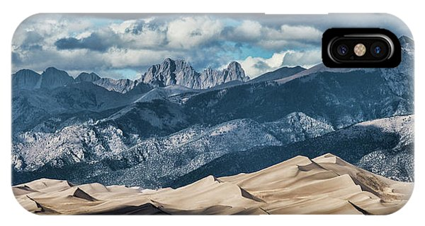 The Great Sand Dunes Panorama IPhone Case