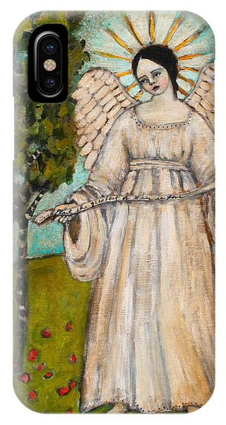 Angels iPhone Case - The Greatest Of These Is Love by Jane Spakowsky