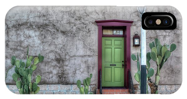 The Green Door IPhone Case
