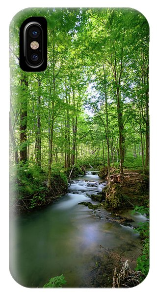The Green Forest IPhone Case