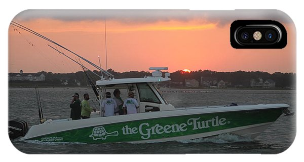 The Greene Turtle Power Boat IPhone Case