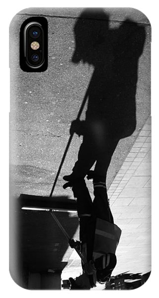 The Grim Sweeper IPhone Case