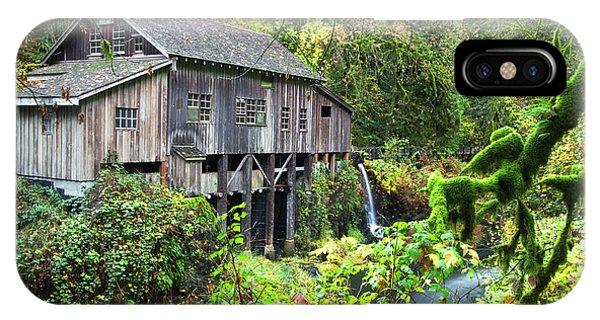 The Grist Mill, Amboy Washington IPhone Case