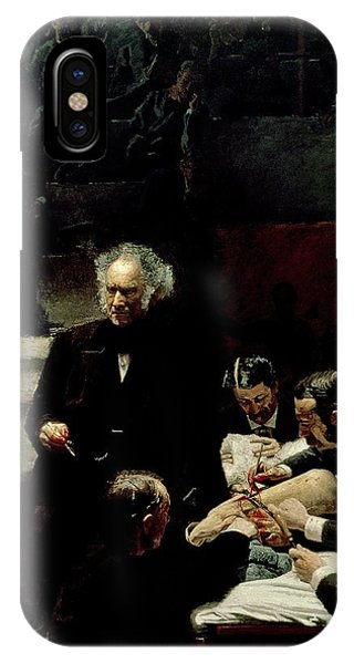 Classroom iPhone Case - The Gross Clinic by Thomas Cowperthwait Eakins