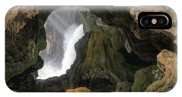The Grotto Of Neptune In Tivoli IPhone Case