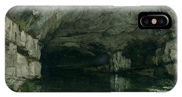 The Grotto Of The Loue IPhone Case