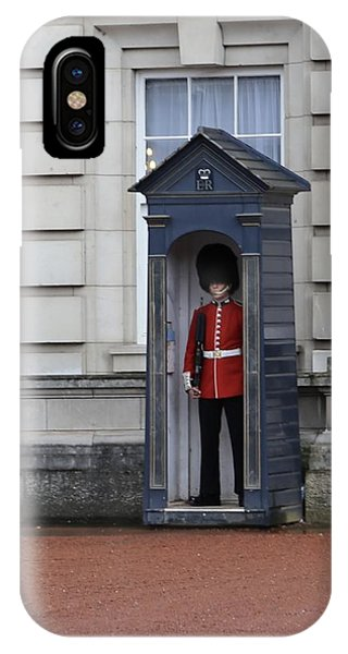 The Guard At Buckingham Palace IPhone Case