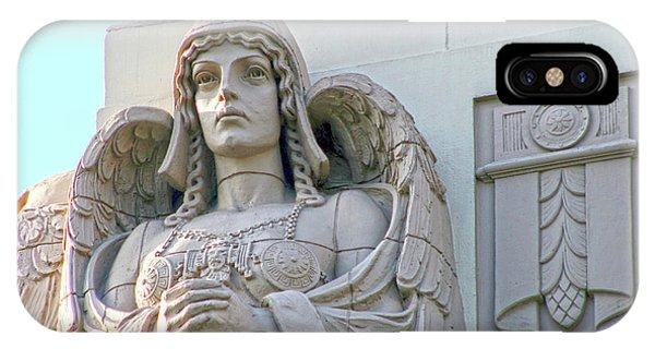 The Guardian Angel On Watch IPhone Case