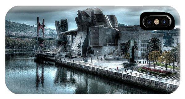 The Guggenheim Museum Bilbao Surreal IPhone Case