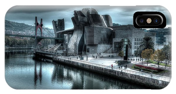 The Guggenheim Museum Bilbao Surreal IPhone Case